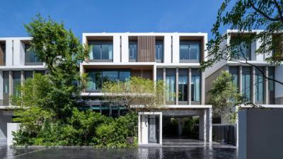 For SaleHouseRatchadapisek, Huaikwang, Suttisan : I-Nine Greenhouse [3-storey detached house with resort style]