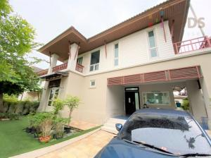 For SaleHouseLadkrabang, Suwannaphum Airport : Single detached house for sale, Catalina Resort On Nut - New Pattanakarn.