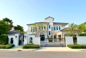 For SaleHousePinklao, Charansanitwong : Luxury mansion for sale in prime location • LADAWAN (LADAWAN) Ratchaphruek - Pinklao • location near Lake and garden