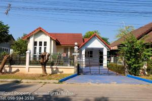 For RentHouseChiang Mai : Single-storey house for rent at Wang Tan Village near Chiang Mai airport
