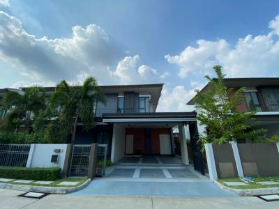 For SaleHouseChengwatana, Muangthong : ขาย บ้านเดี่ยว โครงการ บุราสิริ ราชพฤกษ์-345