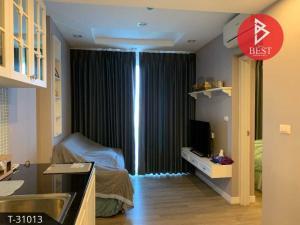 For SaleCondoPattaya, Bangsaen, Chonburi : Condo for sale, The Blu X Bangsaen, Chonburi, sea view, new room.