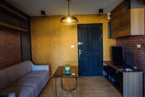 For RentCondoBangbuathong, Sainoi : Condo for rent, D Condo Rattanathibet, beautifully decorated room