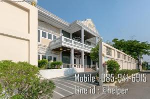 For SaleHouseOnnut, Udomsuk : AM-1285 sell cheap !!! Big house, 214 sq.wa. 38 min. Sukhumvit 77, very cheap.