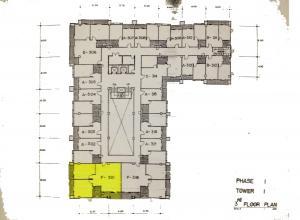 ขายคอนโดพัฒนาการ ศรีนครินทร์ : ขายคอนโดเซ็นชาร์ม ใกล้ซีคอนสแควศรีนครินทร์ ม.ดุสิตธานี ห้องใหญ่หัวมุม 2 นอน 1ห้องน้ำ โถงรับแขกครัว