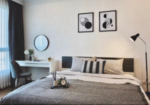 For RentCondoRatchathewi,Phayathai : POJ 281 New room for rent Supalai Elite Phayathai (Supalai Elite Phayathai) Beautiful room, fully furnished.