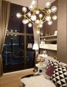 เช่าคอนโดพระราม 9 เพชรบุรีตัดใหม่ : POJ 282 ให้เช่าห้องใหม่ Chewathai Residence Asoke ห้อง Duplex ***รับฟรี CASH BACK 5,000 บาท !!!