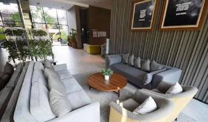 For RentCondoBangna, Lasalle, Bearing : Condo for rent A space ME Bangna Mega Bangna 17th floor AOL-F71-2104003839