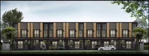 ขายทาวน์เฮ้าส์/ทาวน์โฮมบางใหญ่ บางบัวทอง ไทรน้อย : บ้านมณฑา The Greyy 70 ทาวโฮม 2 ชั้น สวยน่าอยู่ กลางเมืองนนทบุรี
