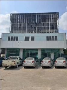 เช่าตึกแถว อาคารพาณิชย์นวมินทร์ รามอินทรา : RPJ172ให้เช่าอาคาร4ชั้นเหมาะทำศูนย์บริการ โฮมออฟฟิศ ติดถนนรามอินทรา
