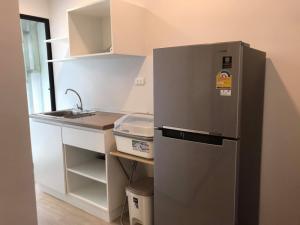 For RentCondoOnnut, Udomsuk : 🔥🔥 New room !! 🔥🔥 For rent Hi Sukhumvit 93, size 28 sqm. 2nd floor, 1 bedroom 1 bathroom, BTS Bang Chak [Code: A202]