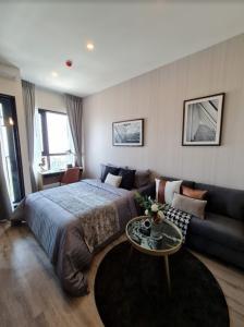 For RentCondoOnnut, Udomsuk : 🔥🔥Hot Deal! 🔥🔥 For rent, Knightbridge Prime Onnut, Sukhumvit 77, 23 sqm., 29th floor, beautiful view, 1 bed 1 bath near BTS On Nut [Code: A205]