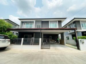For SaleHouseBangbuathong, Sainoi : 2 storey detached house for sale, Centro Ratchapruek.