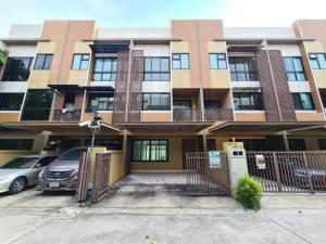 For SaleTownhouseRama3 (Riverside),Satupadit : 3-storey townhome for sale S-Concept Rama 3 has never been residents. Good quiet location