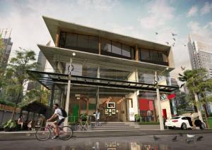 เช่าตึกแถว อาคารพาณิชย์สุขุมวิท อโศก ทองหล่อ : Rental : Commercials Building in Soi Sukhumvit 49 close Samijtivej Sukhumvit Hospital , Thonglor BTS , 180 sqm ,  ( Shop Width  5.5 m )