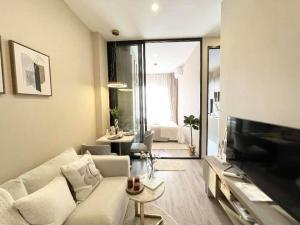For RentCondoOnnut, Udomsuk : 🔥🔥Hot Deal! 🔥🔥 For rent, Knightbridge Prime Onnut, Sukhumvit 77, 27 sqm., 28th floor, Chao Phraya view, 1 bedroom, 1 bath, near BTS On Nut [Code: A211]
