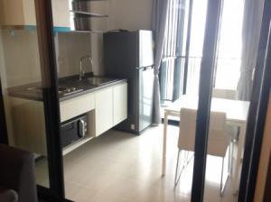 For RentCondoOnnut, Udomsuk : Urgent rent, drop room, very good price, beautiful decoration, free high floor, The Base Park West Sukhumvit 77