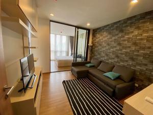 """เช่าคอนโดอ่อนนุช อุดมสุข : """"ให้เช่าHasu Haus สุขุมวิท 77""""  1 ห้องนอน 1 ห้องน้ำ   ชั้น 7 อาคาร b ขนาด 37ตรม."""