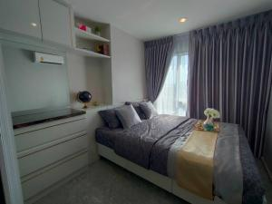 For SaleCondoBang Sue, Wong Sawang : Condo Regent Bang Son Phase 28 Building A, 23rd floor, south view, built-in, very beautiful room, selling 1.79 million baht