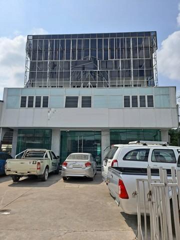เช่าตึกแถว อาคารพาณิชย์นวมินทร์ รามอินทรา : ให้เช่าอาคาร4ชั้นติดถนนรามอินทราเหมาะทำโฮมออฟฟิศและศูนย์บริการ