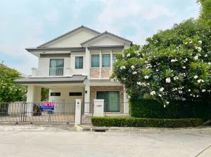 ขายบ้านนวมินทร์ รามอินทรา : ขายบ้านเดี่ยว มัณฑนา เลค วัชรพล สุขาภิบาล5 ราคาถูกสุดในโครงการ