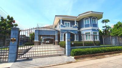 For SaleHouseRatchadapisek, Huaikwang, Suttisan : Single house Ladprao 48 near MRT Sutthisan.