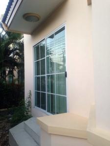 For SaleHouseBang kae, Phetkasem : Single house for sale, Manthana Phetkasem 81, corner unit, 58 sqw renovated.