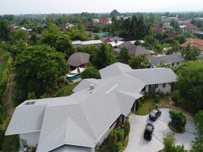 ขายบ้านเชียงใหม่ : ขายบ้านเดี่ยว 2ชั้น พูลวิลล่า พร้อมสระว่ายน้ำเนื้อที่ 4ไร่ 29 ตร.ว พื้นที่ 1,200 ตร.ม 8 ห้องนอน 8 ห้องน้ำ บิ๊กซีหางดง อำเภอเมืองเชียงใหม่ ราคาขาย 29.8 ล้านบาท