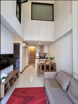 เช่าคอนโดสุขุมวิท อโศก ทองหล่อ : Duplex 2beds2baths for rent in Thonglor Soi8 at Lecote condo. Ready to move in