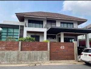 For SaleHouseVipawadee, Don Mueang, Lak Si : Sell / rent a single house in Don Muang Land 199 sq m. Area 300 sq m. Beautiful house ready to move in. Opposite Don Mueang Airport