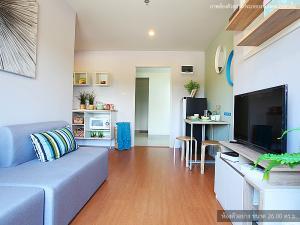 For SaleCondoCha-am Phetchaburi : Condo for sale, Lumpini Seaview Cha-am, Condo next to Cha-am beach, 1 bedroom, size 26 square meters, sea view condo, Cha-am, Petchaburi, new room, first-hand, excellent location, convenient transportation, great price, favorite sea resort.