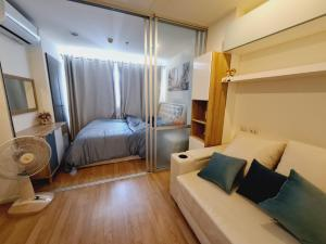 For RentCondoRamkhamhaeng Nida, Seri Thai : Cheap ++ Condo Lumpini Ville Ramkhamhaeng 60/2, fully furnished, ready to move in.