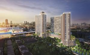 Sale DownCondoBang kae, Phetkasem : Sales down at capital Supalai Veranda Phasi Charoen, 2 bedrooms, 66 sq m before transfer in August