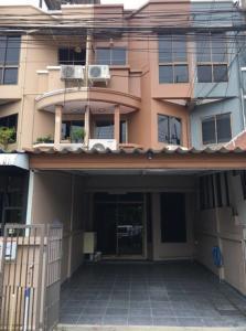 For RentTownhouseLadprao 48, Chokchai 4, Ladprao 71 : NA-H4086 3-storey townhome house, renovated new Chokchai 4