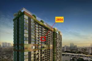 ขายดาวน์คอนโดลาดพร้าว เซ็นทรัลลาดพร้าว : The Line พหล ห้อง Promotion ชั้นสูง ชั้น 26 เพียง 3.29 ล้าน ทิศเหนือตำแหน่งสวย