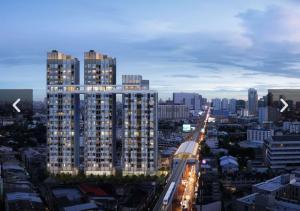 For SaleCondoKasetsart, Ratchayothin : New luxury condo for sale, next to BTS Senanikom, great value!!