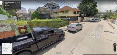 For SaleLandRamkhamhaeng, Hua Mak : Land for sale Located at Soi Hua Mak 8 or Soi Ramkhamhaeng 46, area 116 square wah.
