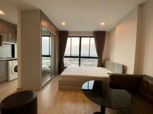 For RentCondoThaphra, Wutthakat : Condo for rent, Ideo Sathorn-Thapra, Ratchaphruek, Bukkhalo Thonburi, studio room available, cheap