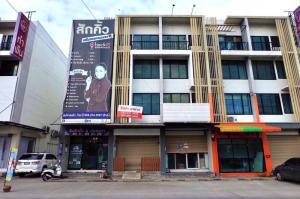 For RentShophouseLadkrabang, Suwannaphum Airport : K1128 Commercial building for rent (5th Avenue, in front of Lad Krabang Industrial Estate).
