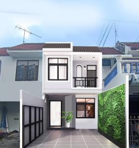 For SaleTownhouseVipawadee, Don Mueang, Lak Si : Townhouse for sale opposite Don Mueang Airport, next to Vibhavadi-Rangsit Road.