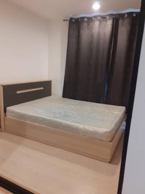 For RentCondoRangsit, Thammasat, Patumtani : For rent, The Excel Khu Khot, Lam Luk Ka, Khlong 2, furniture, electrical appliances, there is a washing machine.