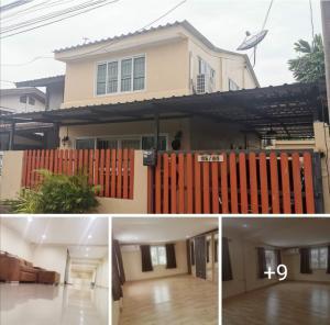For SaleHouseLadkrabang, Suwannaphum Airport : SH4071 2 storey detached house for sale, area 35 sq.wa. Lat Krabang, near Suvarnabhumi airport.