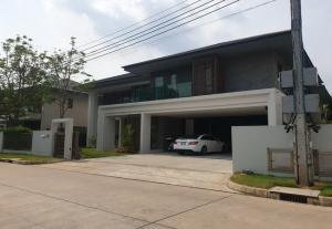 For SaleHouseKasetsart, Ratchayothin : SH4075 2 storey detached house for sale, Setthasiri Phahol-Watcharaphon, Bang Khen District, Bangkok