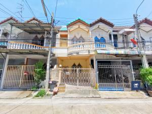 For SaleTownhouseRathburana, Suksawat : Suksawat University, Suan Thanon, Pracha Uthit 33, good location, Pracha Uthit, near the expressway, only 1.79 million.