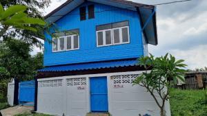 For SaleHouseBang kae, Phetkasem : 2 storey detached house, Bang Phai, Bang Khae, 32 sq m. 3 bedrooms, 2 bathrooms, new paint, beautiful, large usable area, cheap price 1.79 million