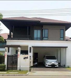 For RentHouseChiang Mai : House for rent in Chiang Mai Setthasiri San Sai, near Ruamchok, near Mae Jo University