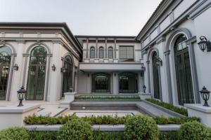 For SaleHouseNakhon Pathom, Phutthamonthon, Salaya : JH10 Luxury mansion for sale, The Grand Pinklao, 310 sq m, 1200 sq m, 7 bedrooms, 8 bathrooms, 4 cars parking.
