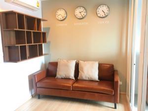 For RentCondoRama9, RCA, Petchaburi : Condo for rent : The base Rama9  Type : 1 Bedroom 1 Bathroom Size : 30.5 Sq.m Floor : 23 Rent Price 10,000