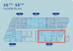 ขายดาวน์คอนโดอ่อนนุช อุดมสุข : Skyrise 64 ห้อง Penthouse 3-bed 101.23 ตร.ม. Foreigner Quota เพียง 14.19 ล้าน