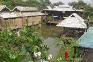 For RentHouseChiang Mai : Rent a house near Mae Jo University, San Sai Hospital, on the main road, San Sai area, Chiang Mai